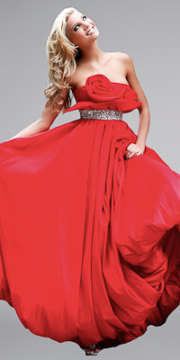 Bubble Hem Ball Gowns by Sherri Hill - Princess Dresses