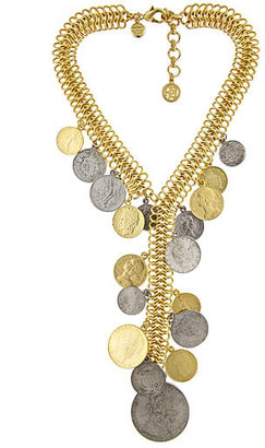 Ben-Amun Lariat Coin Necklace - Lariat Necklaces