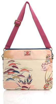 Asian Flower Computer Case - Flower Print Handbags