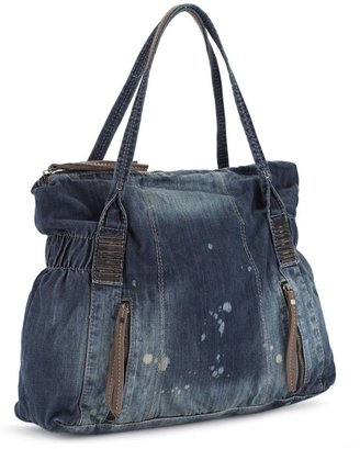 "Joe's jeans ""nash"" denim tote - Denim Trend - Spring 2010"