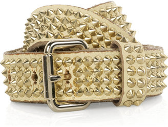 HTC Iconics studded leather belt - Accessories