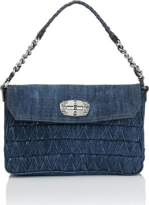 Miu Miu Denim Pochette - Spring&#39;s Trendy Purses