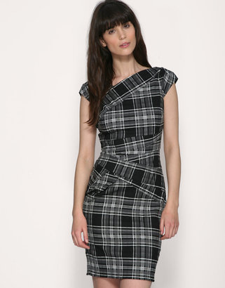 Warehouse Tartan Bandage Dress - Bodacious Bandage Dresses