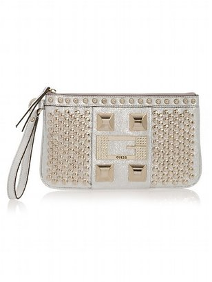 Noir Wristlet Clutch - Magnificent Metals
