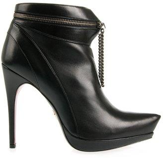 CESARE PACIOTTI – Zip platform ankle boots | VILOUX? Models & Fashion : NY :  boots shoes cesare paciotti