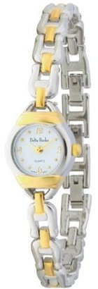 Delta Burke Women's 79023 Two-Tone Open Link Bracelet Watch - Chronograph Watches