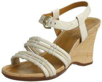 Rockport Women&#39;s Ranya Rope Wedge Sandal - Rope Embellishments