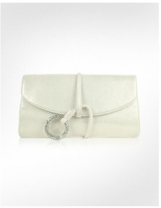 Rodo Envelope Evening Clutch w/Swarovski Crystal Ring - Rodo
