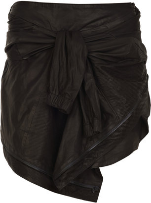 Proenza Schouler Jacket-effect leather skirt - Rebecca Minkoff&#39;s Easy Style