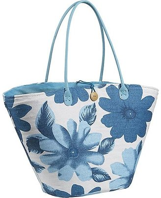 Bamboo 54 Tote Flower Print - Tote Bags