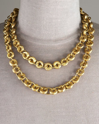 Ashley Pittman Bronze Chain Necklace, 40&quot; - Jewelry