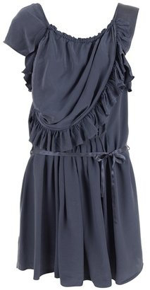 ISABEL MARANT - Silk ruffle edge dress - Isabel Marant