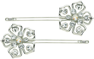 DCNL Hair Accessories DCNL Fleur Slides With Crystals - Accessories