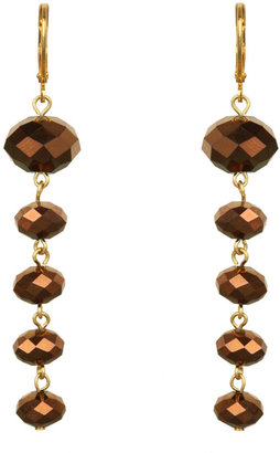 Kenneth Jay Lane Copper 5 Drop Earring - Dangle Earrings