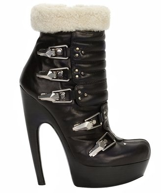 Shearling Ski Boot - Heels