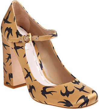 Miu Miu Bird Maryjane - Camel - Heels