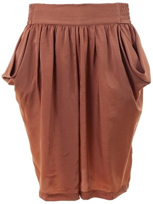 PHILOSOPHY DI ALBERTA FERRETTI - Draped silk skirt - Philosophy di Alberta Ferretti