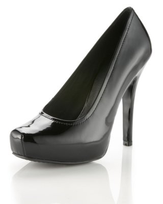 House of Harlow Lillian Patent-Leather Pump - Heels