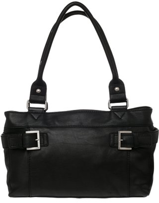 Audrey Brooke Leather Satchel - Audrey Brooke