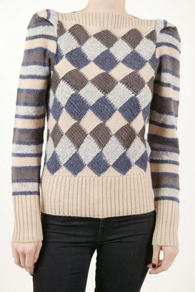 Marc by Marc Jacobs Diamond Tweed Sweater - Marc By Marc Jacobs