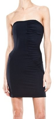 David Lerner Waterfall Strapless Dress - David Lerner