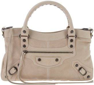 BALENCIAGA - Leather shoulder bag - Studded Shoulder Bag
