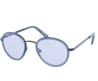Raf Simons Acetate and Metal Round Sunglasses - Men's Round Lenses