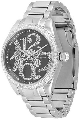 Fossil Oversized Glitz Numbers Watch - Oversized Watches for Women