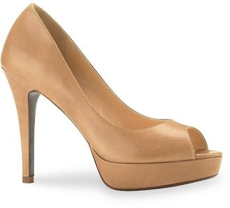 Cole Haan &quot;Mariela Air&quot; Peeptoe Platform Pumps - Cole Haan