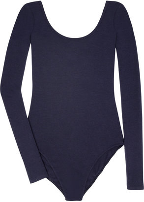 Splendid Long-sleeved jersey bodysuit - Long Sleeve Bodysuits