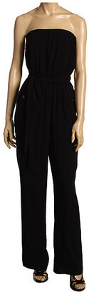 BCBGeneration - Strapless Jumpsuit (Black) - BCBG Max Azria