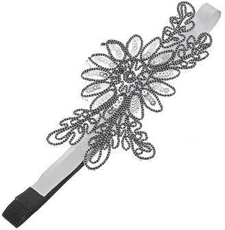 Sequin Flower Headband - Hair Pin