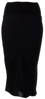 RICK OWENS - Georgette bias cut pencil skirt. - Dresses & Skirts