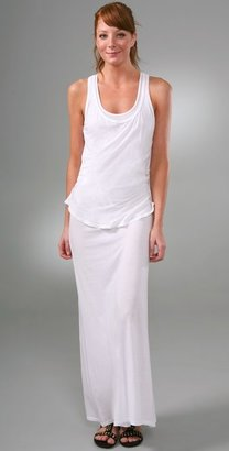 Monrow Racer Tank Long Dress - Monrow
