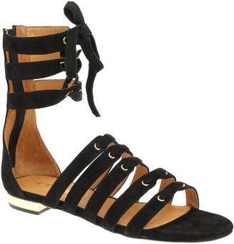 Supertrash Cesare Suede Gladiator Flat Sandal - Summer&#39;s Hottest Gladiator Sandals