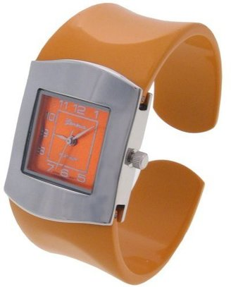 Geneva Platinum Colored Band Fashion Watch - Funky Colored Watches