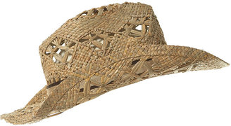 Open Weave Cowboy Hat - Fashion Hats For Women
