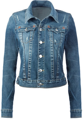 True Religion Medium Blue Vintage Jeansjacket - Denim Trend - Spring 2010