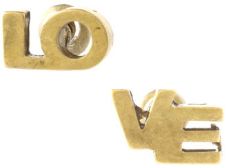 ASOS Split &#39;Love&#39; Stud Earrings - Happy 21st Birthday Outfits