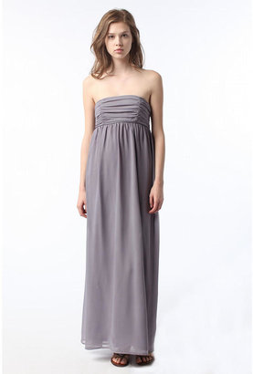 Pins and Needes Chiffon Maxi Dress - Urban Outfitters