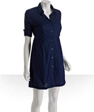 Wyatt blue poplin shirtdress - Dresses & Skirts