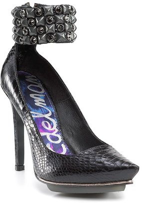 Sam Edelman &quot;Lordes&quot; Ankle Cuff High Heel Pumps - Pumps
