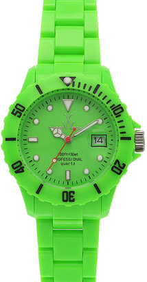 TOYWATCH &#39;Plasteramic Collection&#39; Fluorescent Watch - Funky Fluorescent Finds