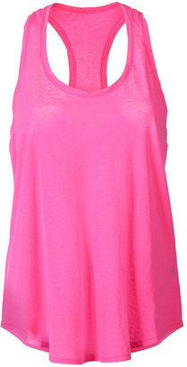 Splendid Neon Pink Vintage Whisper Racerbike Top - Funky Fluorescent Finds