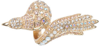 Rhinestone Bird Ring - Statement Cocktail Rings
