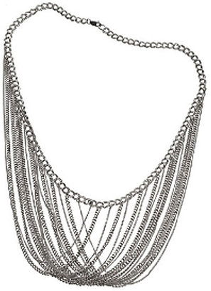 Jennifer Zeuner Multi Chain Choker in Silver or Gold Vermeil - Singer22