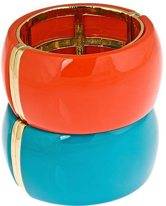 Blu Bijoux Snap Bangle - Rihanna-Style Accessories