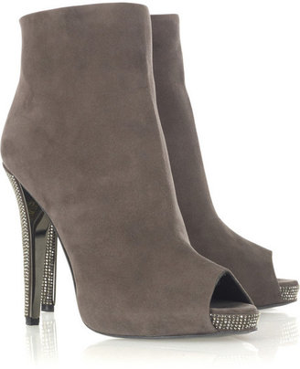 Halston Peep-toe ankle boots - Boots