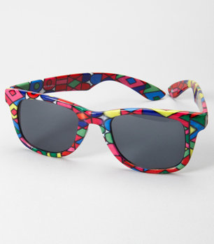 Stained Glass Sunglasses - 2010 Neon Sunglasses