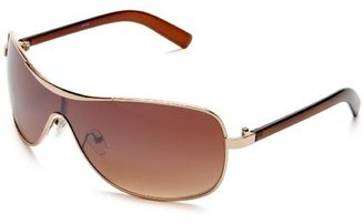 AND 1 Men's Kenneth Metal Shield Sunglasses - Shield Wrap Sunglasses